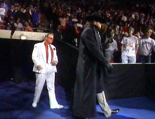 as the undertaker mark made his wwf debut with a big splash at theUndertaker Wwf Debut